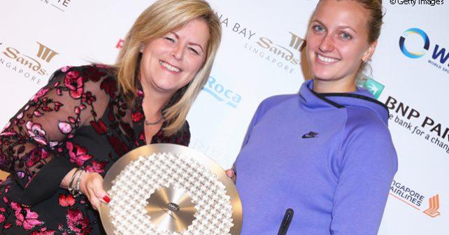 Petra Kvitová oceněna za zásluhy v propagaci tenisu i mimo kurt