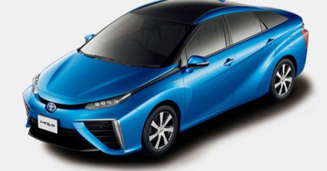 Toyota zdarma uvolnila své patenty pro vodíková vozidla