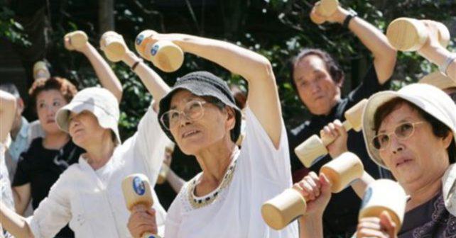 Inspirujme se! Fyzicky nejzdatnější jsou Japonci nad 65 let