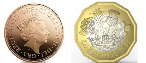 Patnáctiletý chlapec změnil podobu britské libry