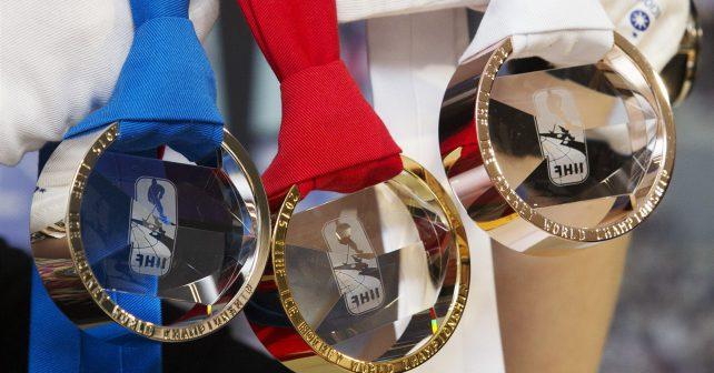 Kov, křišťál a národní symbolika: medaile pro Mistrovství světa v hokeji