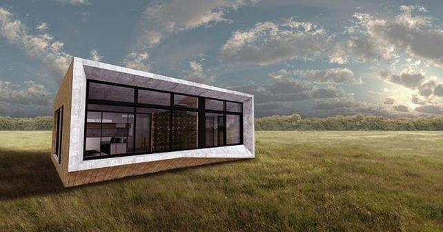 Domov snů: první prefabrikovaný dům, který svému okolí prospívá