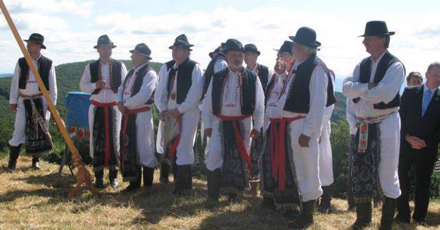 Společnou minulost oslavili Češi a Slováci na Velké Javořině