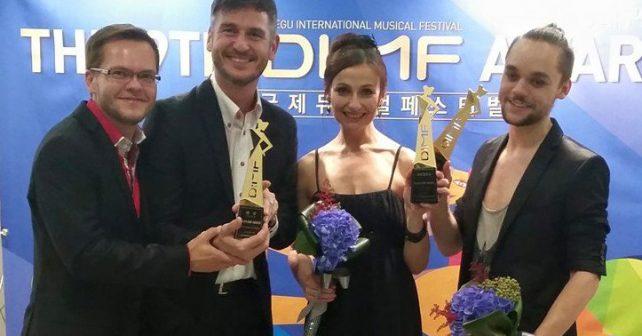 Český muzikál vyhrál hlavní cenu festivalu v Jižní Koreji
