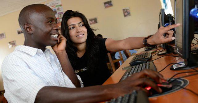 Lidé z nejchudších částí světa mají možnost pracovat pro Google nebo LinkedIn