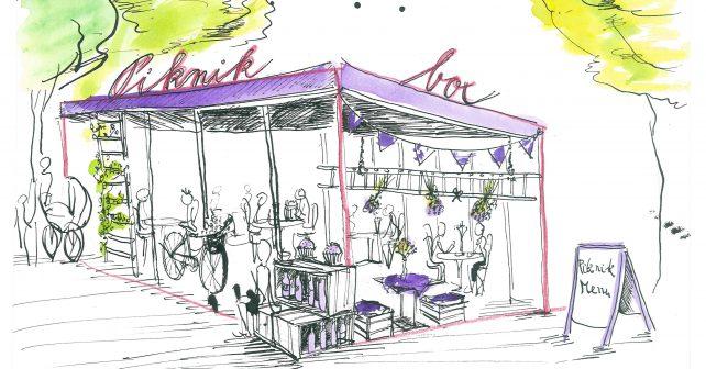 V opraveném parku v Brně vznikne venkovní kavárna se zdravým občerstvením