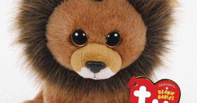 Výrobce hraček vytvořil plyšového lva, který pomůže k ochraně přírody
