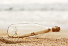 Zprávu v lahvi vyplavilo moře po sto letech