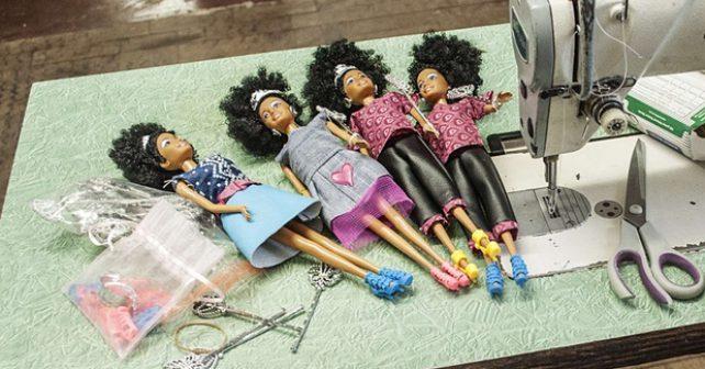 Panenka učí dívky milovat vlastní krásu