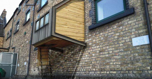 Britský architekt navrhl speciální obydlí pro bezdomovce