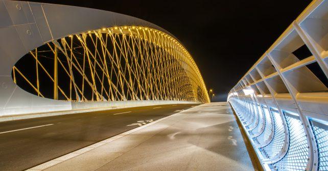 Pražský Trojský most získal mezinárodní ocenění