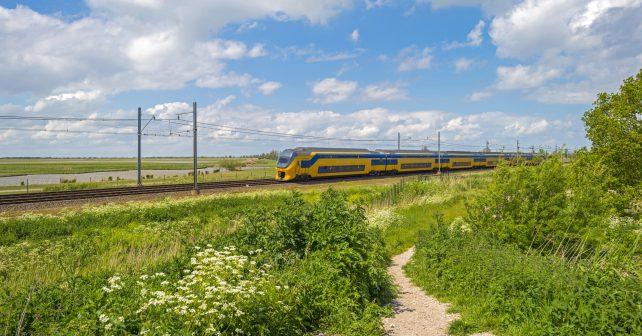 Holandské vlaky budou jezdit pouze na zelenou energii