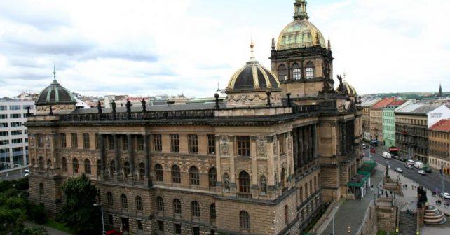 Rekonstrukci Národního muzea můžete sledovat v přímém přenosu