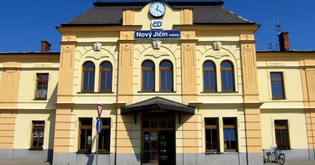 Nejkrásnější české nádraží mají v Novém Jičíně