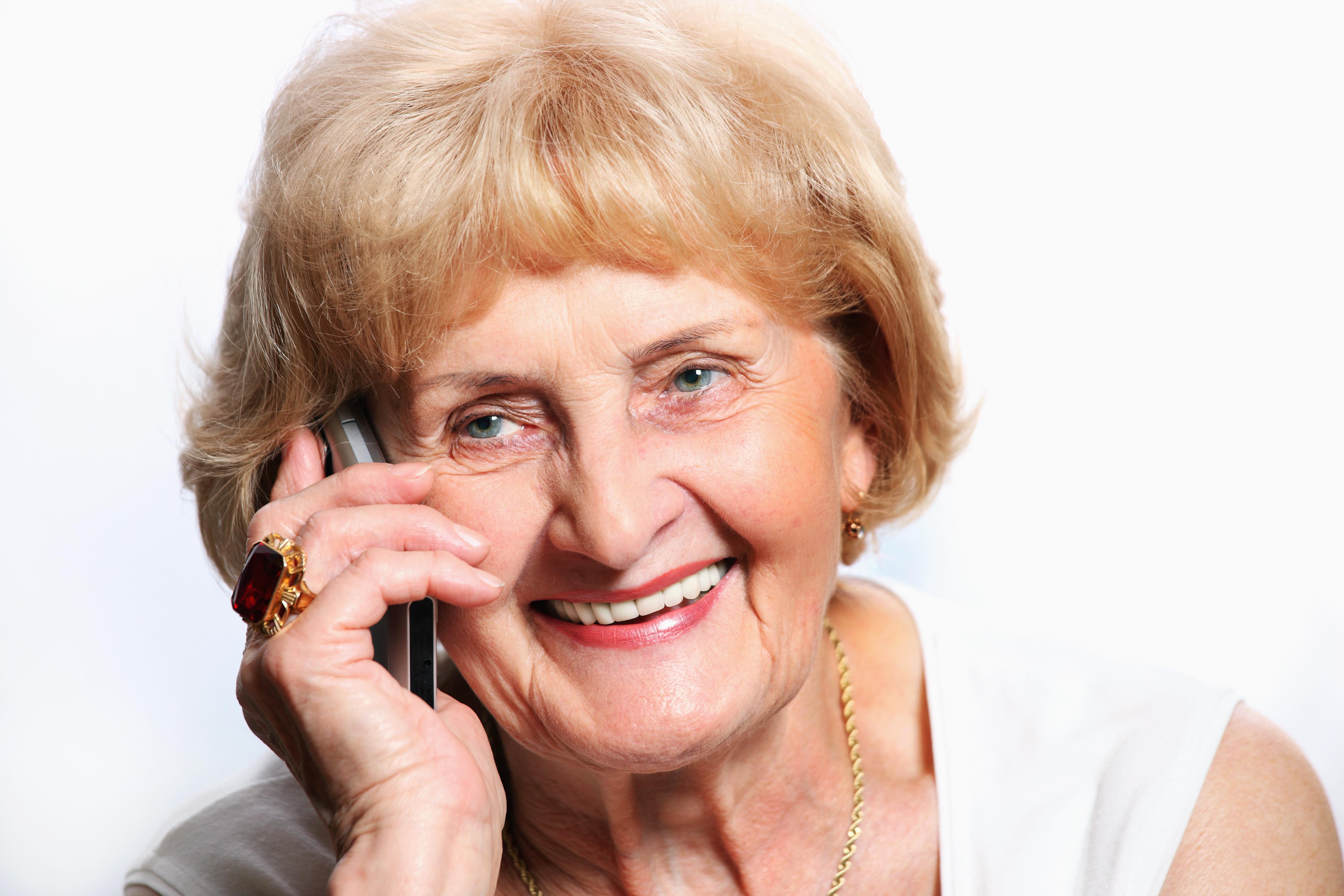 Telefonát s matkou pomáhá snížit stres