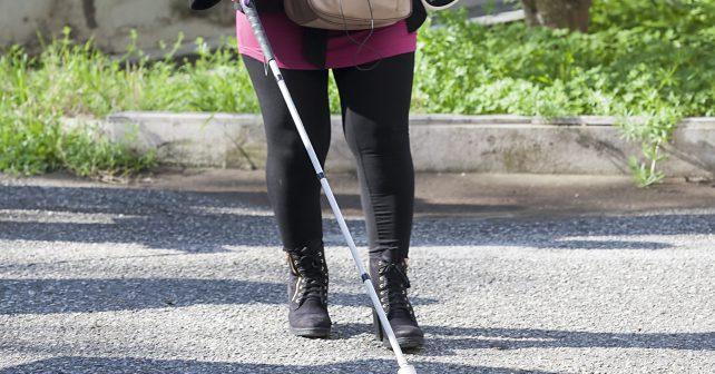 Na ČVUT vyvinuli hůl, která umožní navigovat nevidomé na dálku