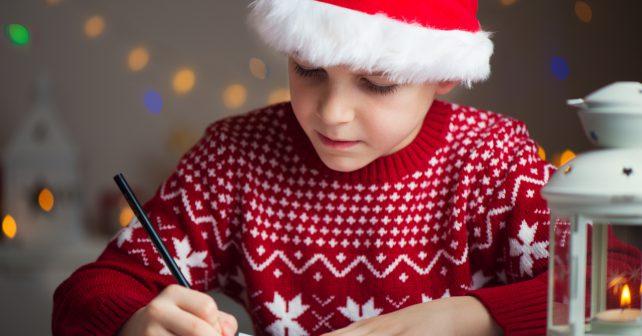 Největší dopis Ježíškovi píší děti v Uherském Hradišti