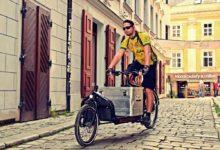 Cyklokurýr je nápad, který šetří životní prostředí
