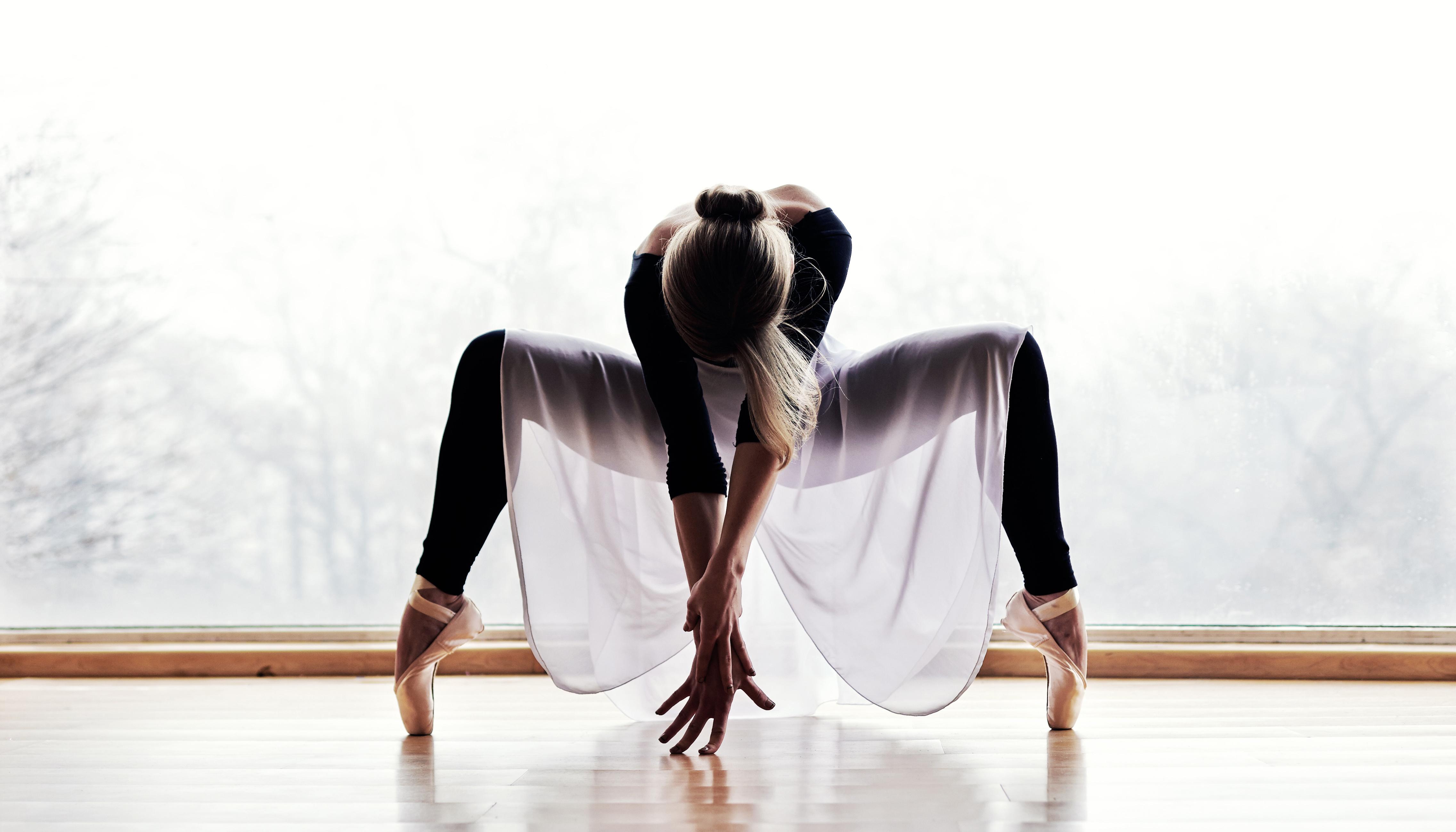 Dívka se naučila tančit za jediný rok
