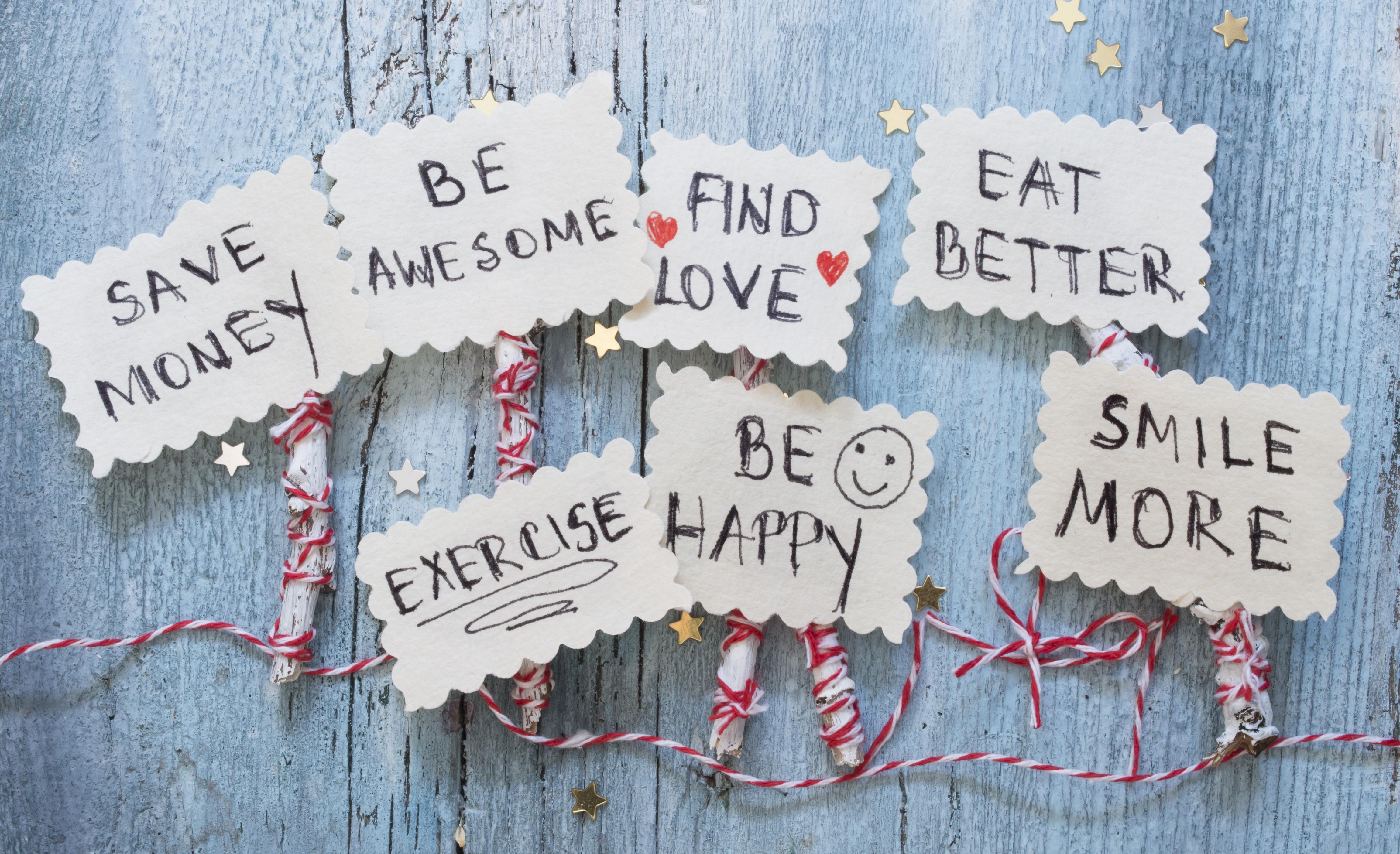 Inspirace do nového roku: 17 pozitivních předsevzetí