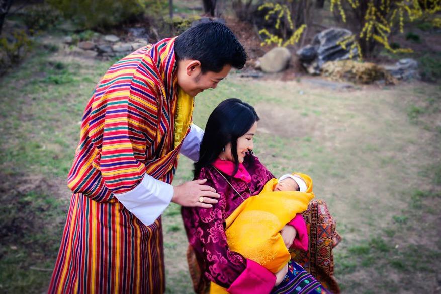 V Bhutánu oslavili narození prince. Vysazením 108 000 stromů