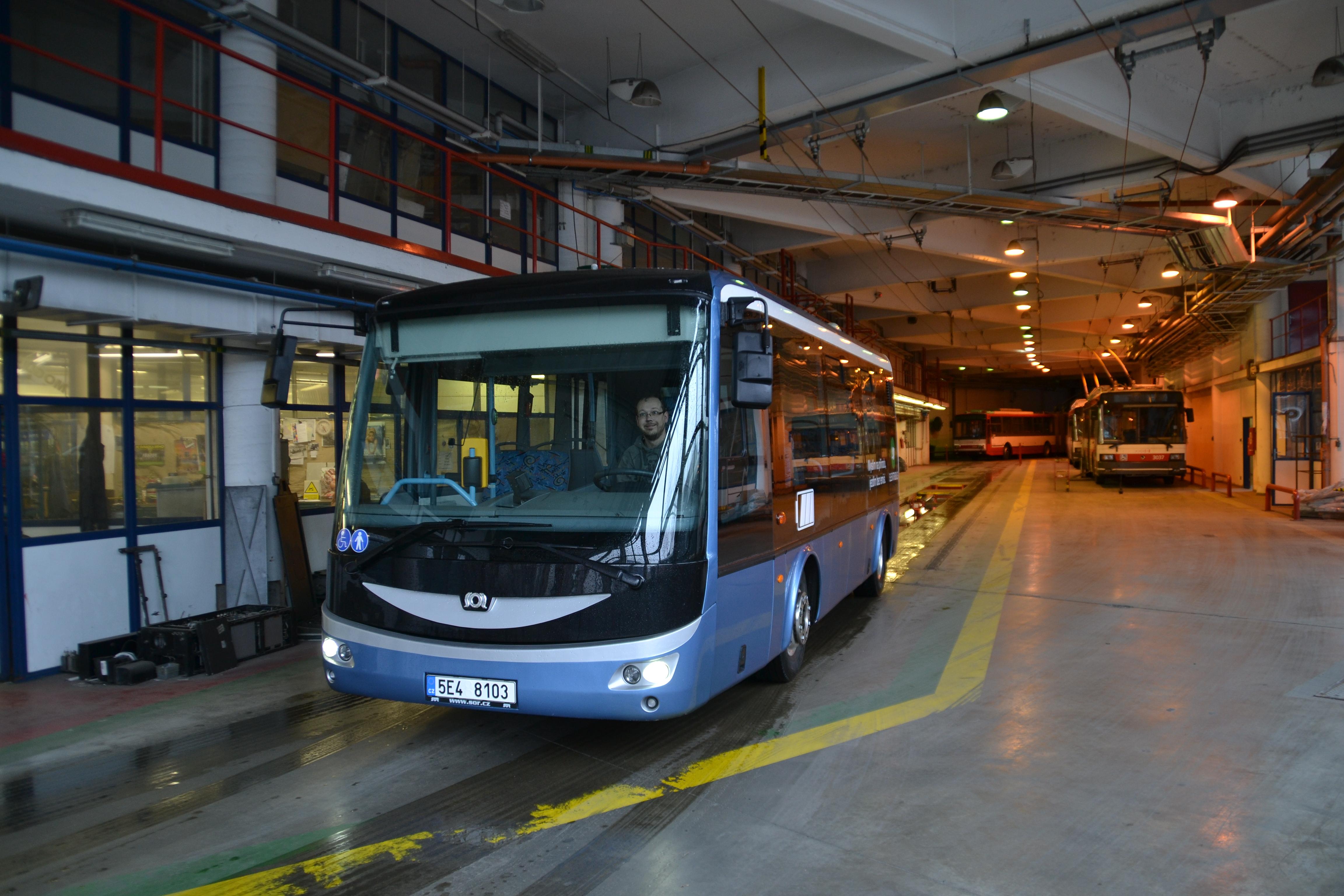 V Brně jezdí po dvou letech elektrobus