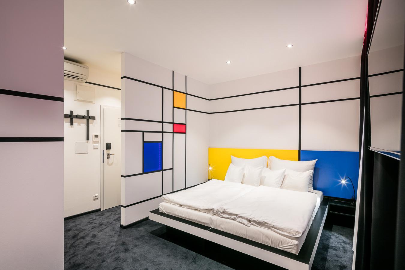 Pokoje libereckého hotelu jsou přehlídkou současného designu