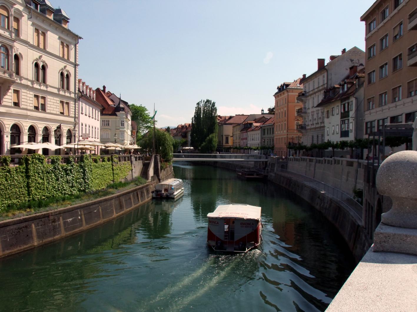 Evropským zeleným městem je letos slovinská Lublaň