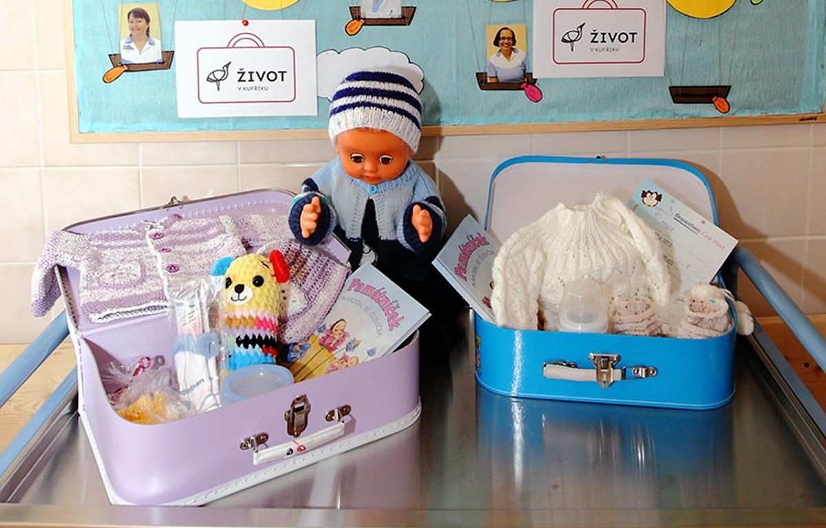 Nadační projekt Život v kufříku pomůže dětem v náhradní péči