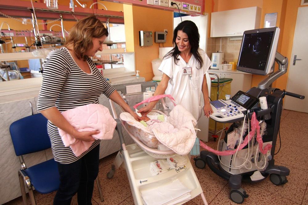 Olomoucká nemocnice má nové špičkové vybavení pro novorozence