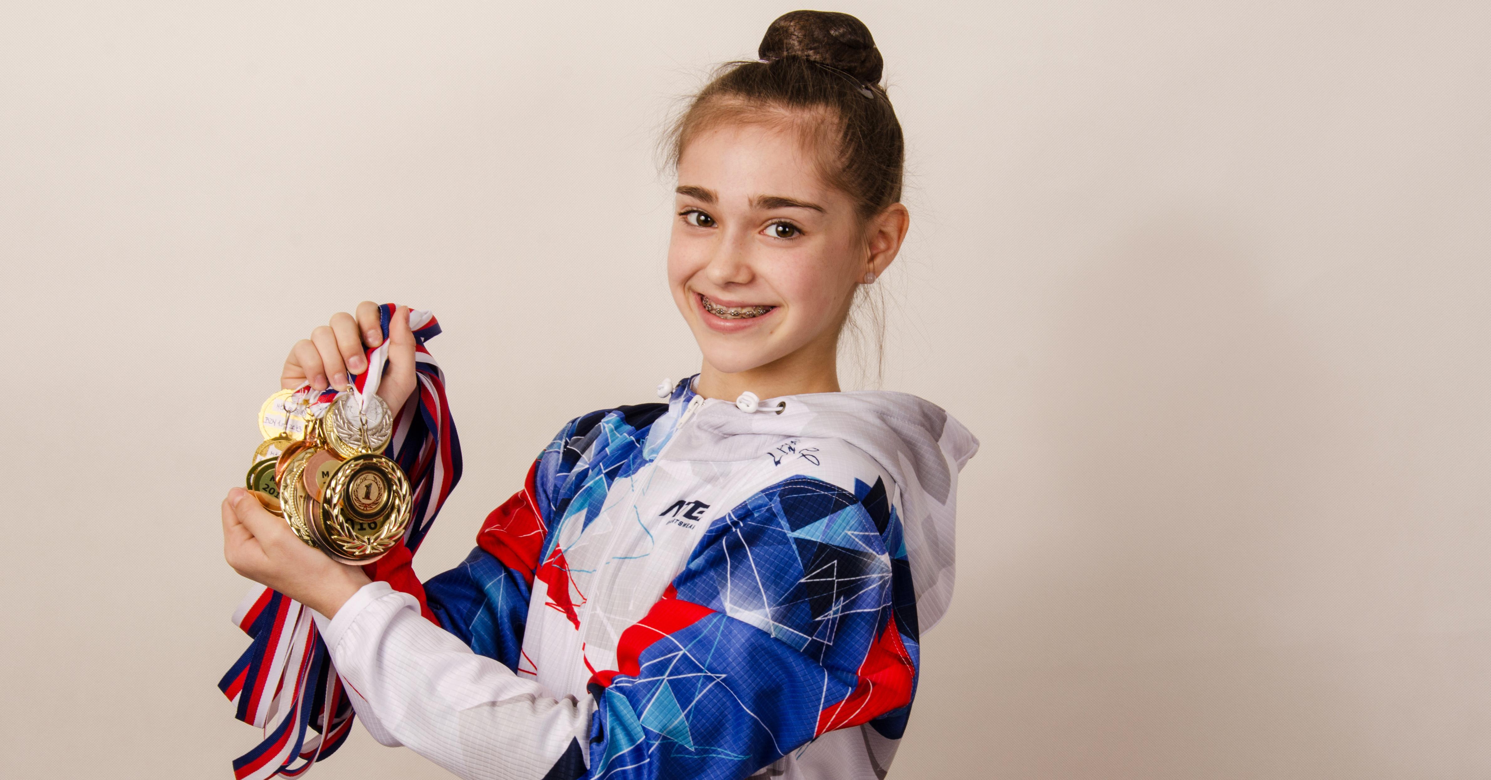 Další úspěch na domácí půdě. Gymnastka z Brna bude reprezentovat Česko na Mistrovství Evropy jako nejmladší v historii