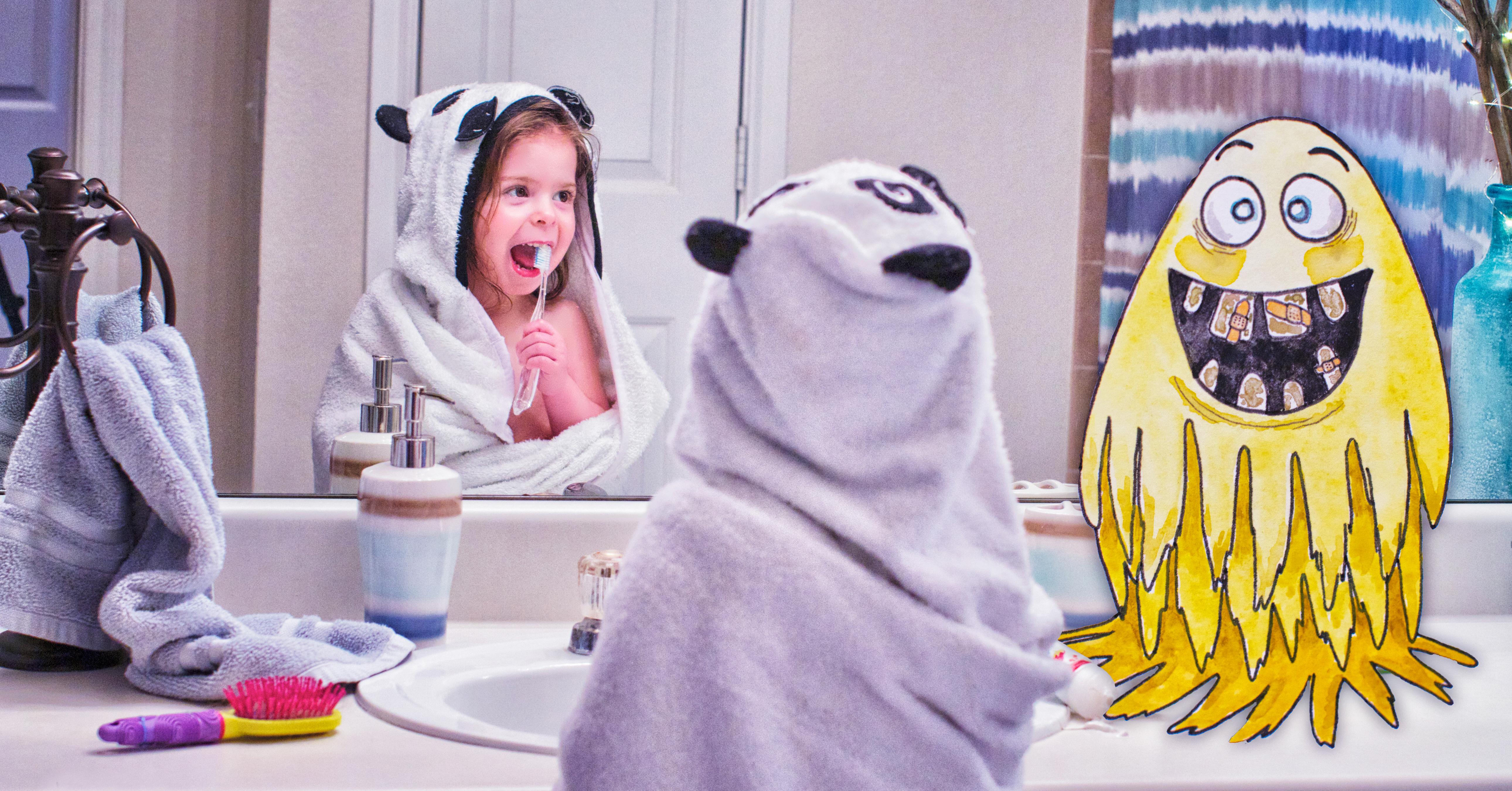 Dvojice umělkyň vytváří obrazy dětí a jejich imaginárních kamarádů