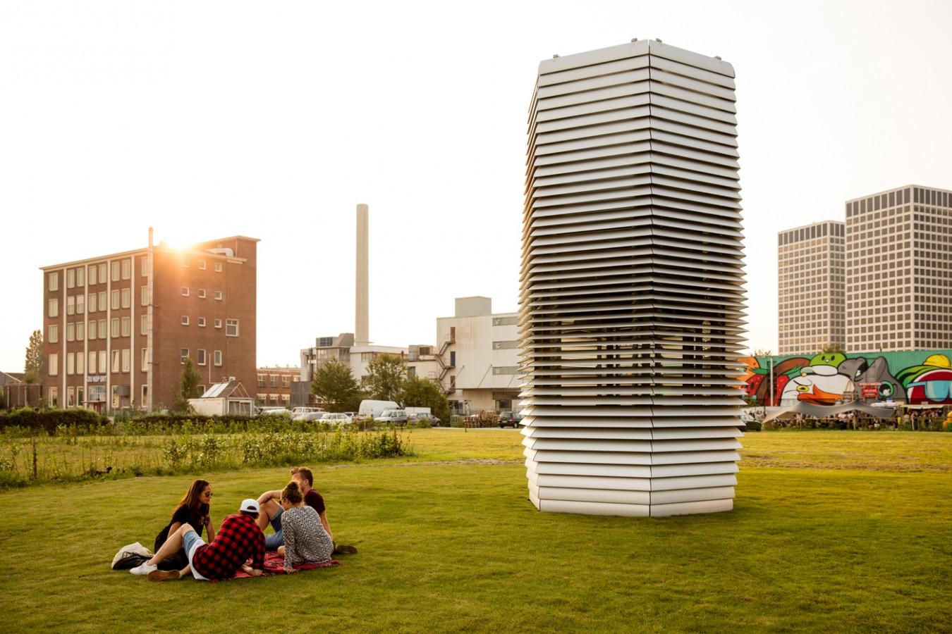 Největší čistička vzduchu na světě funguje na zelenou energii