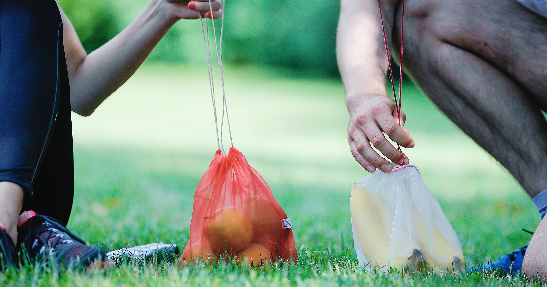 Kompostovatelný Frusack nabízí skvělou alternativu k plastovým sáčkům