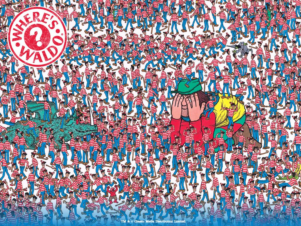 Reálná verze Where's Wally? zpestřila dětem pobyt v nemocnici