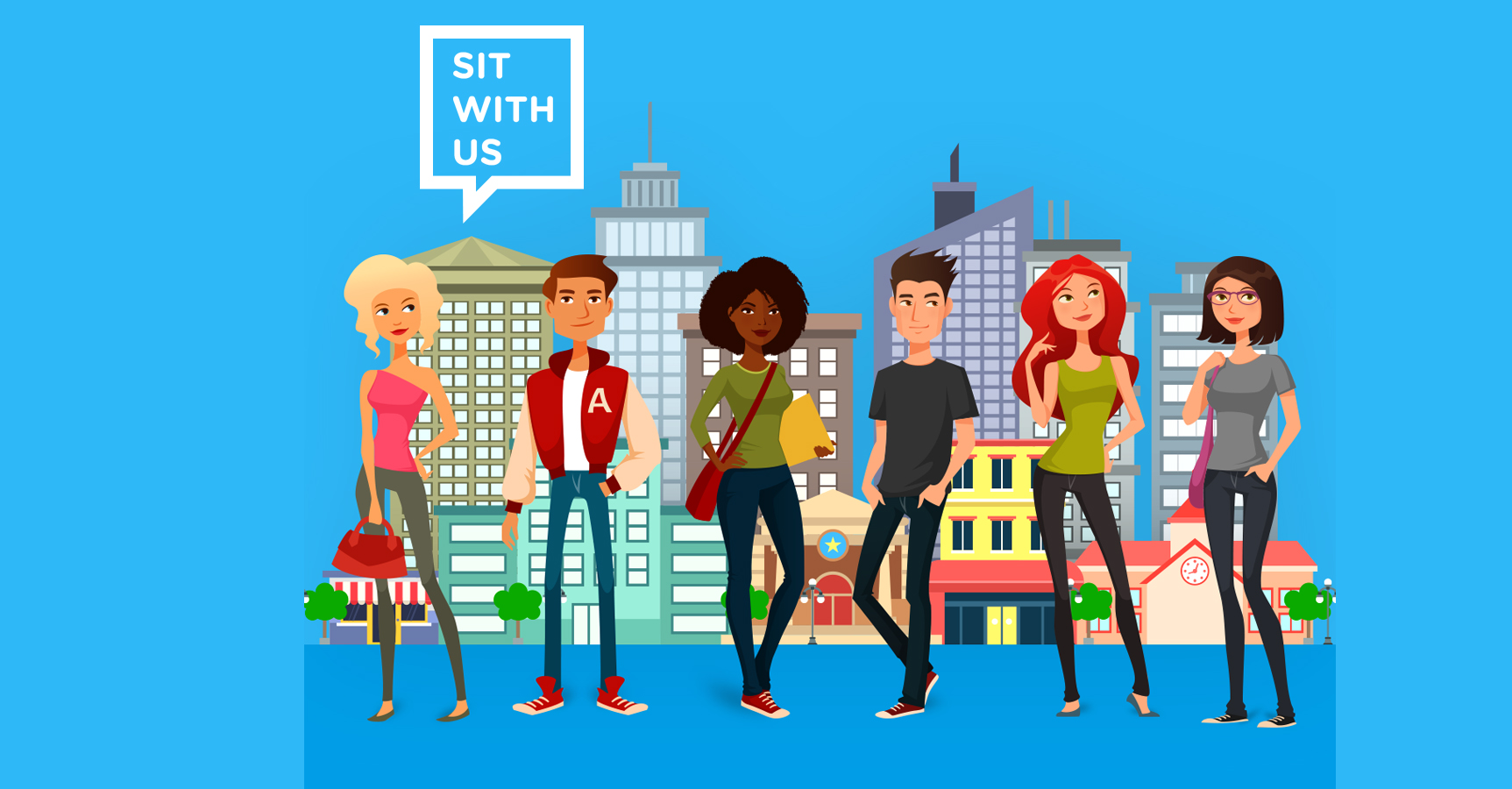 Sedni si s námi, nabízí aplikace americké teenagerky šikanovaným dětem