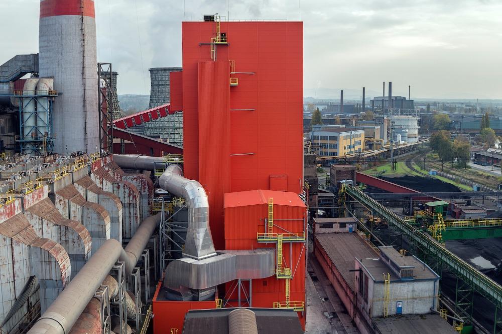 Huť v Ostravě bude díky novému kotli méně znečišťovat životní prostředí