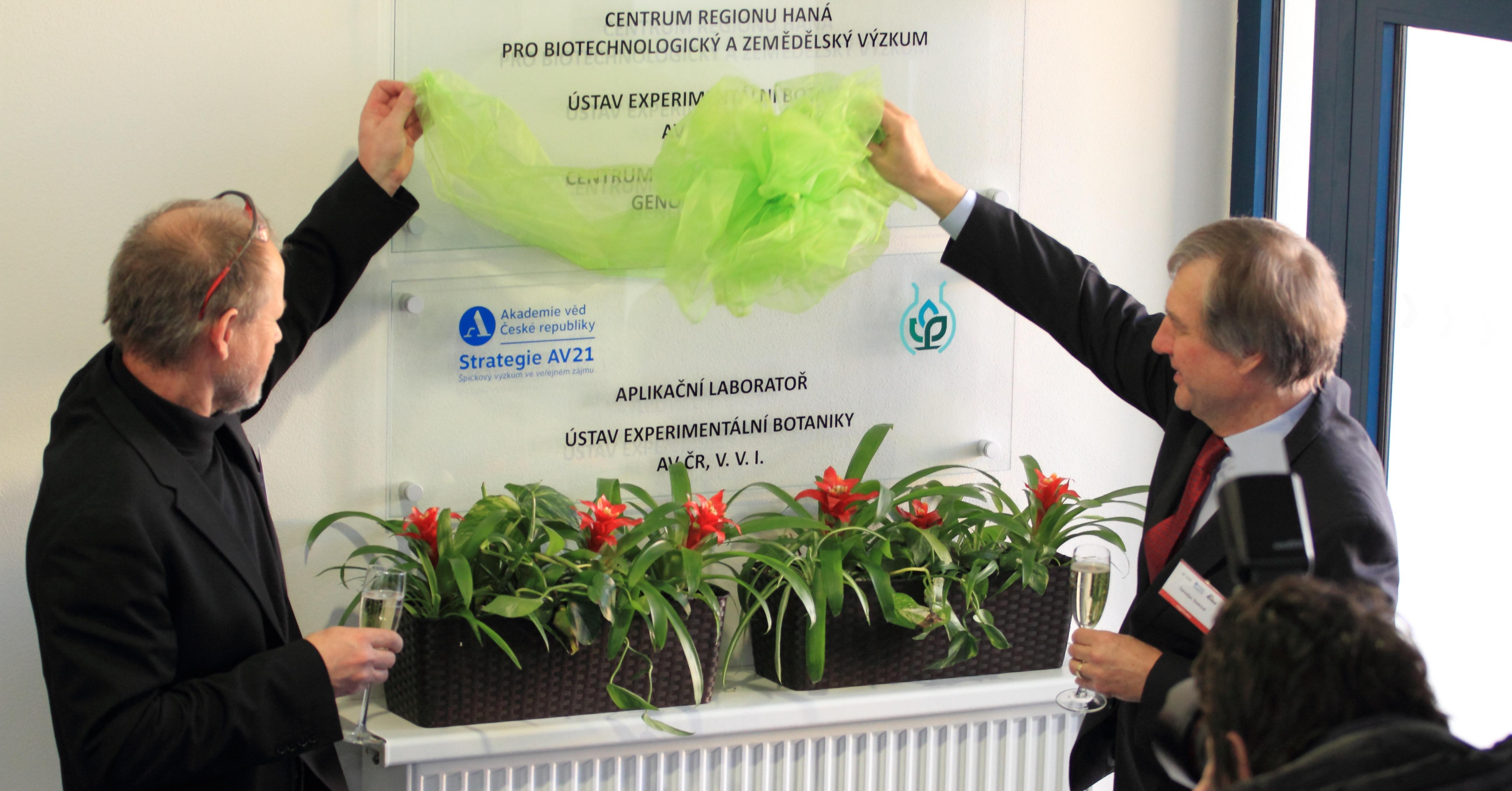V Olomouci vznikla nová laboratoř usnadňující šlechtění plodin