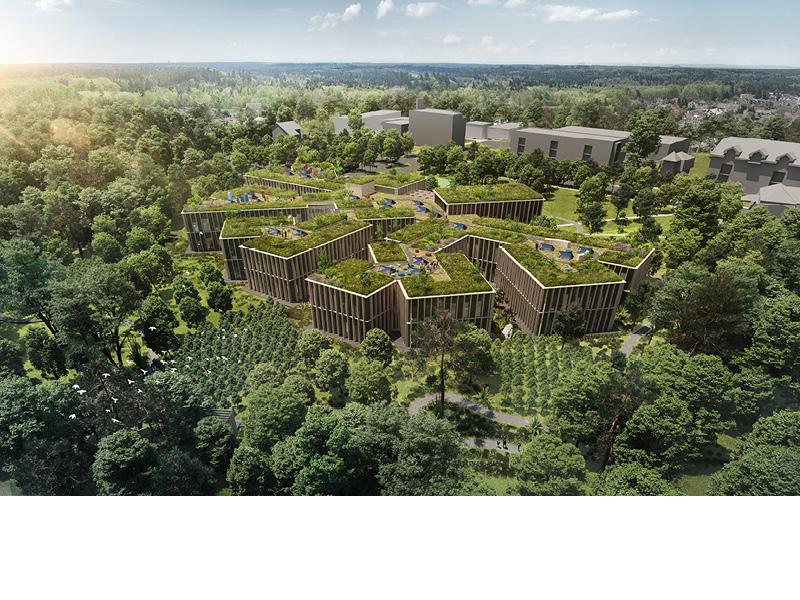 Lesy ČR budou mít nové sídlo, sloužit bude i veřejnosti