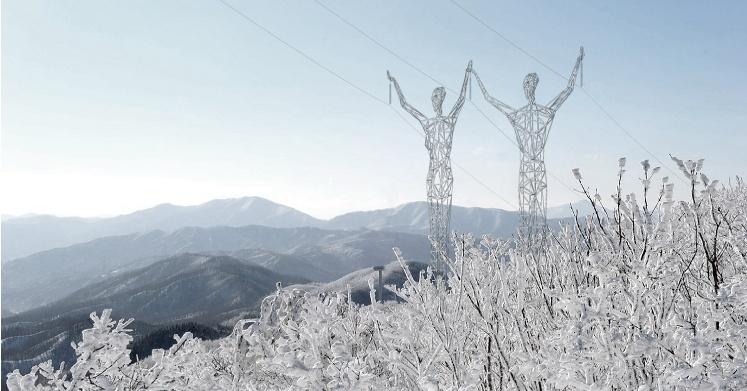 Sloupy elektrického vedení by v budoucnu mohly připomínat obry