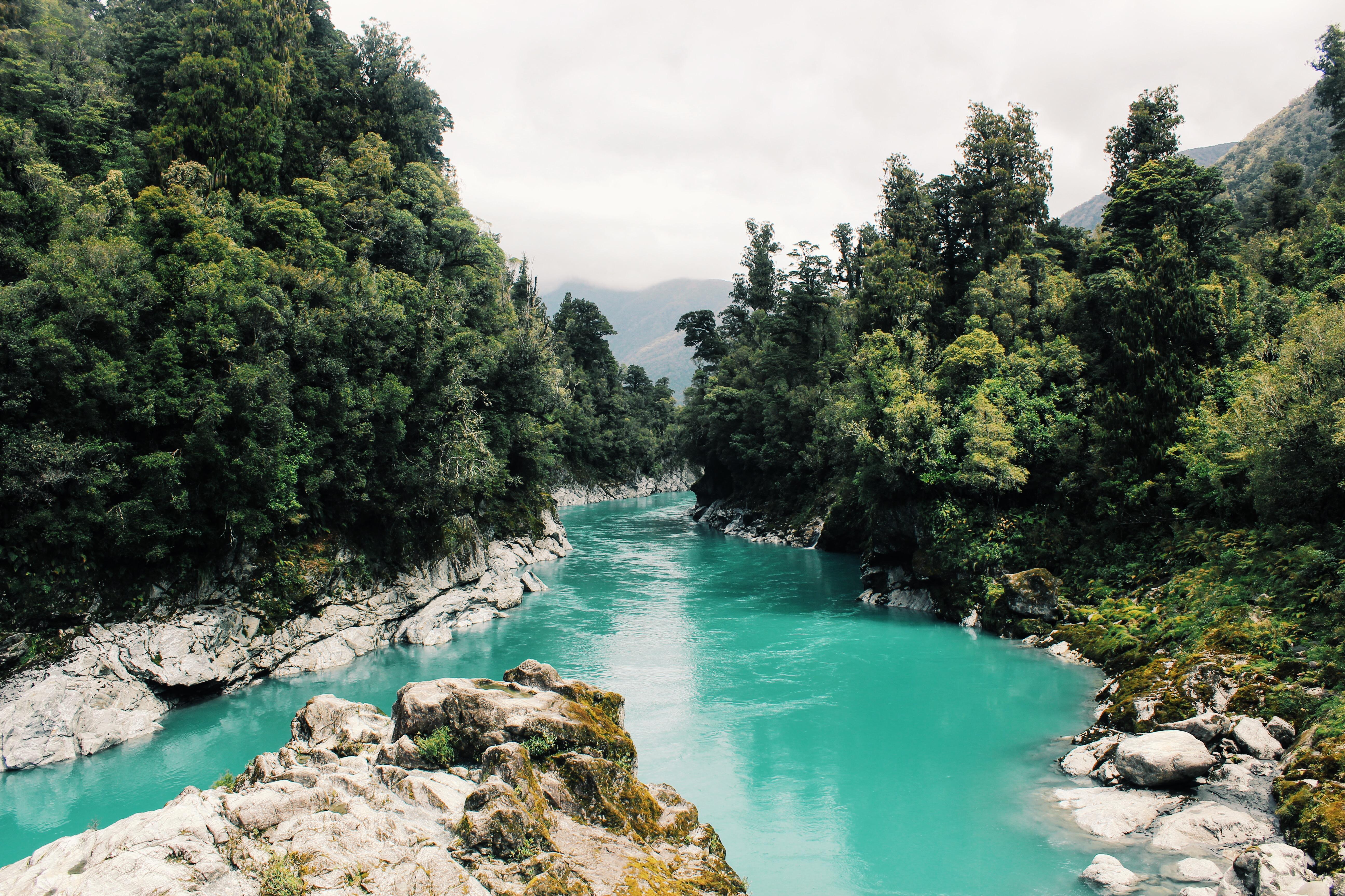 Novozélandská posvátná řeka byla právně uznána za živou