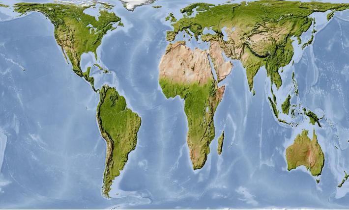 Na realističtější zobrazení světa na mapách přecházejí některé americké školy