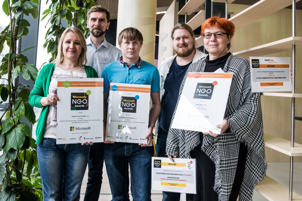 Microsoft NGO Awards ocenily inspirativní neziskové organizace