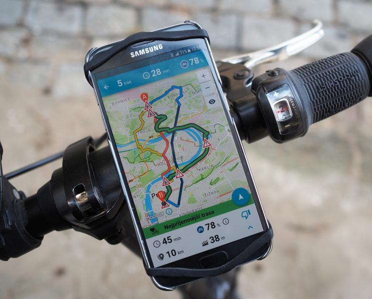 Novou aplikaci Na kole Prahou si Pražané oblíbili
