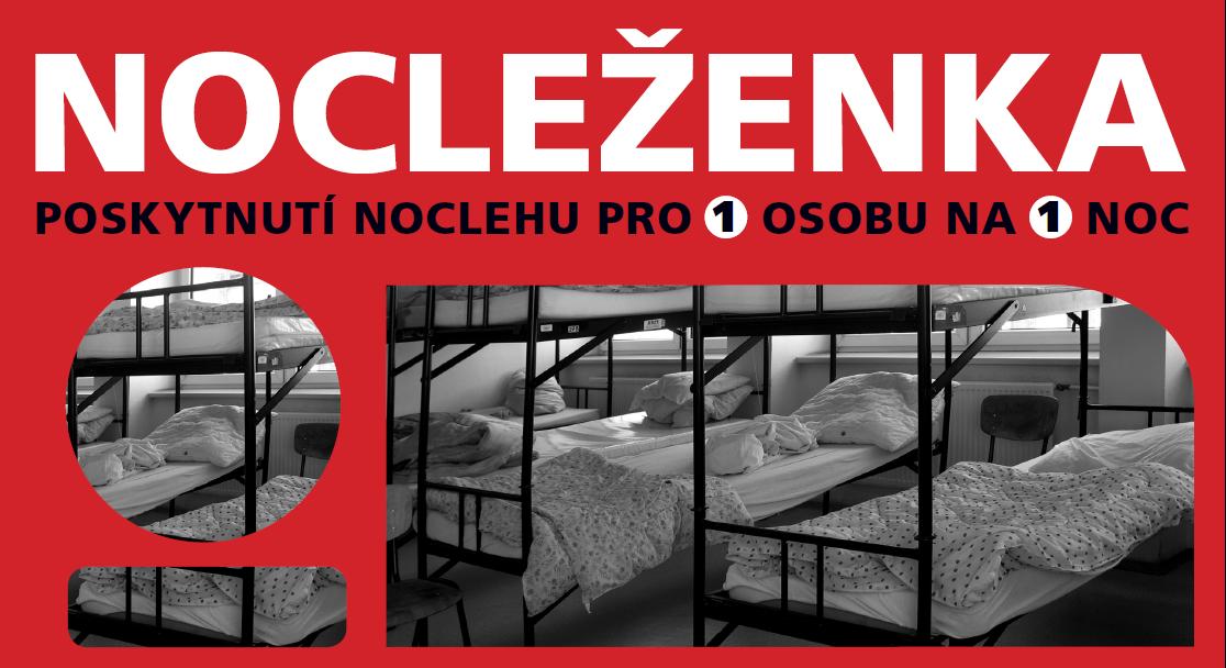 Nákupem Nocleženek pomohli Češi tisícům lidí bez domova