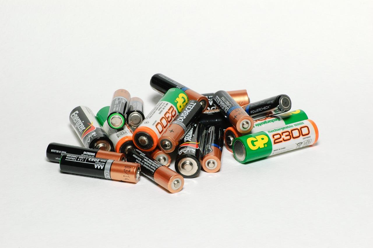 Češi se lepší v recyklaci baterií, vytřídí jich téměř polovinu