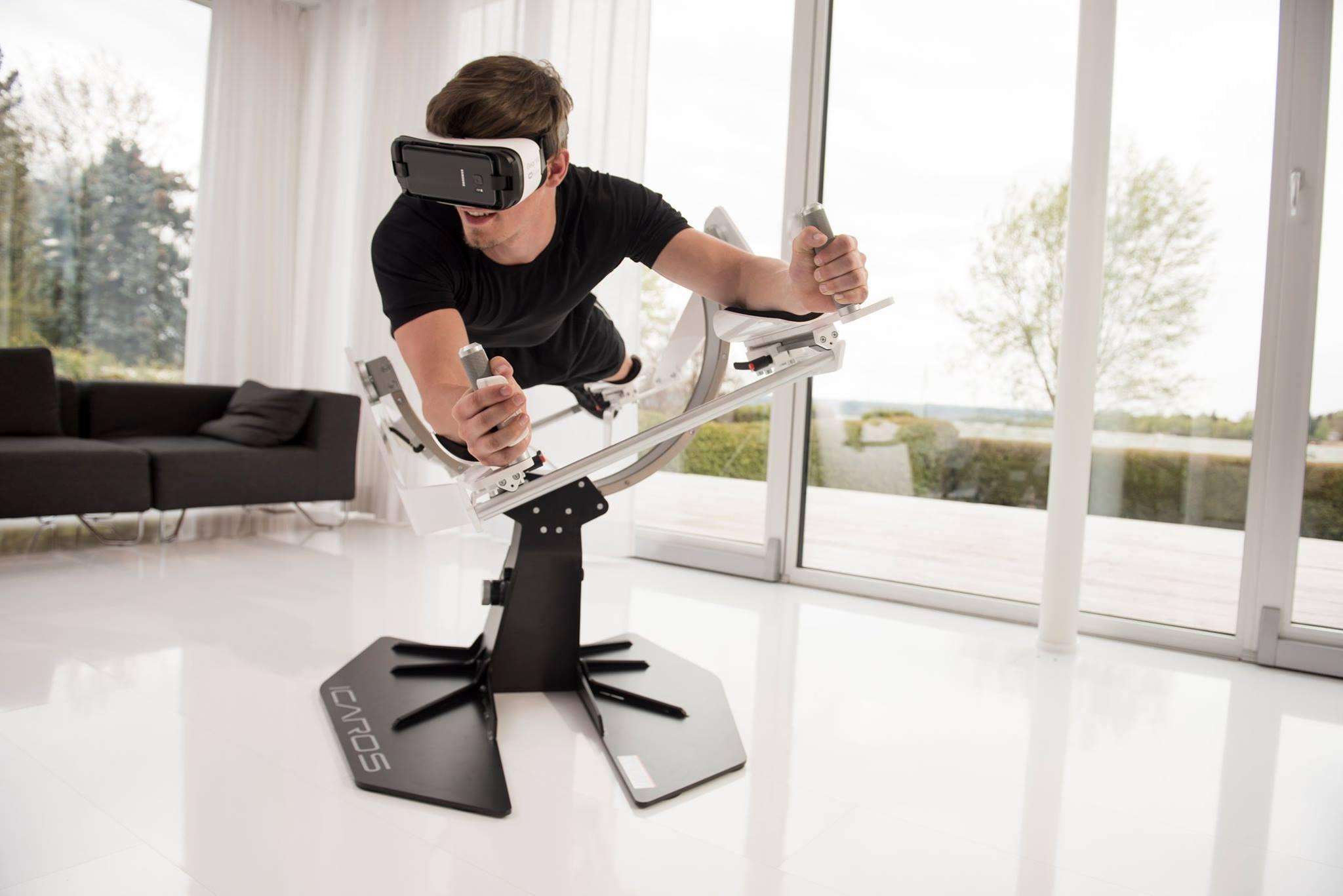 Virtuální realita vstupuje do světa fitness, umožní létat