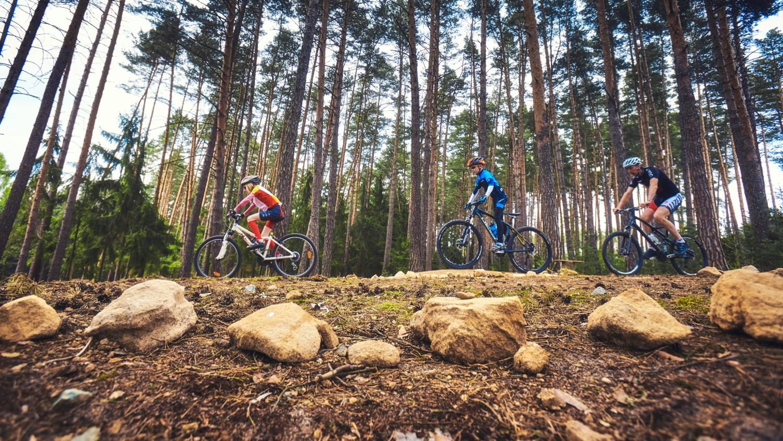 V Boskovicích otevřeli nový areál terénní cyklistiky