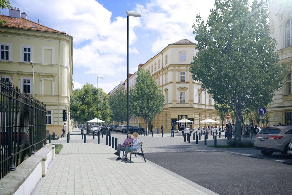 Ulice Gorkého a Arne Nováka v centru Brna se dočkají modernizace