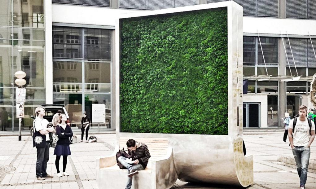 Mechové stromy představují možnou záchranu čistého vzduchu ve městech
